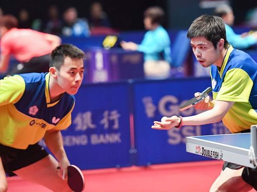 Chen Chien-an and Chuang Chih-yuan (Photo from ittf.com)