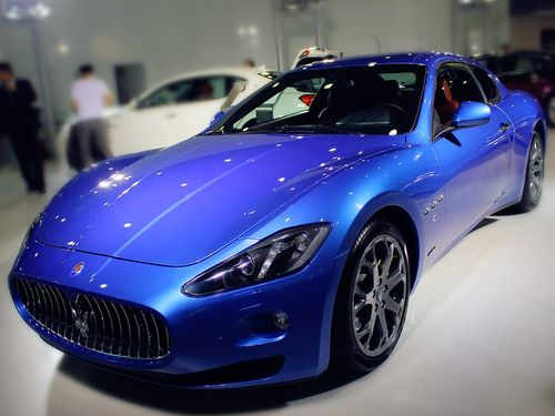 A Maserati GranTurismo (Image taken from Pixabay for illustrative purpose only)