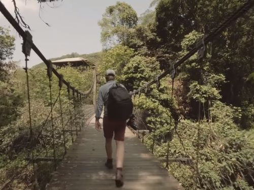 Screenshot from 'Don't go to Taiwan' video