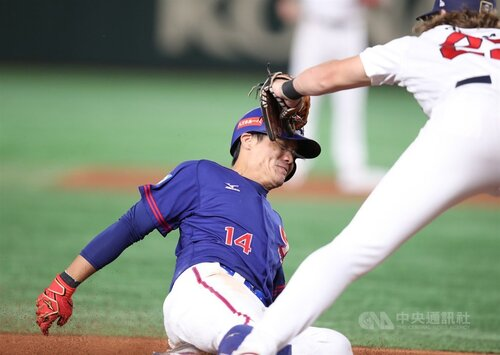 Taiwan loses to U.S. 2-3 in Premier12 Super Round