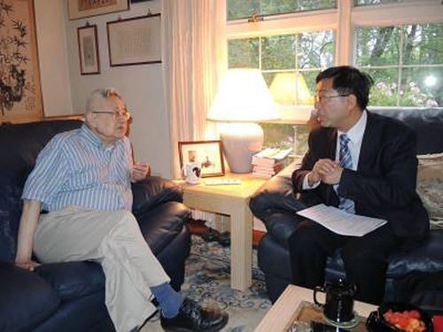 Tang Prize Sinology laureate arrives in Taiwan