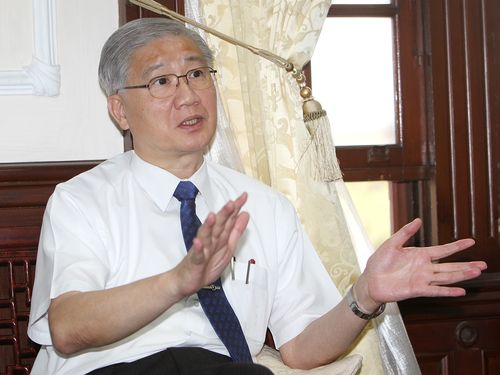 NTU President Yang Pan-chyr.