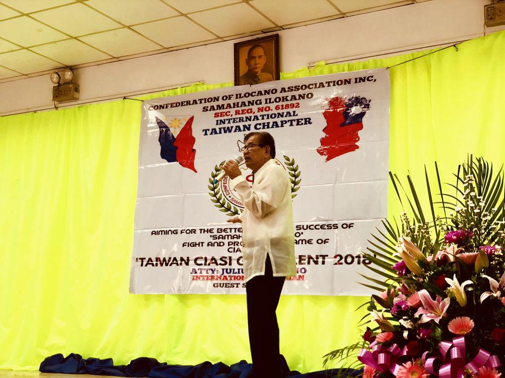 CIASI International Chairman Julius Magno