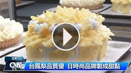 台鳳梨質優 日時尚品牌製甜點
