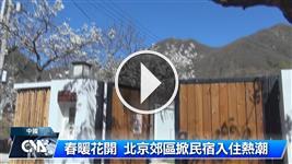 後疫情旅遊商機 北京花季掀郊區民宿入住熱