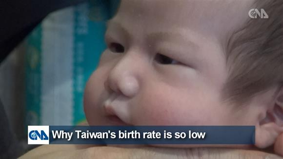 Why Taiwan's birth rate is so low