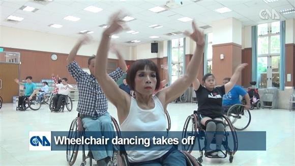 Wheelchair dancing takes off