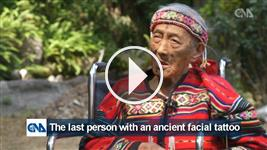 The last Taiwanese with a traditional facial tattoo