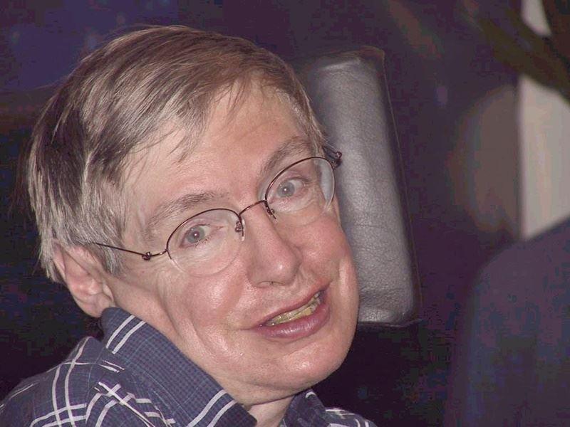 物理學家霍金過世,他和漸凍人症共處55年。(檔案照片/中新社提供)