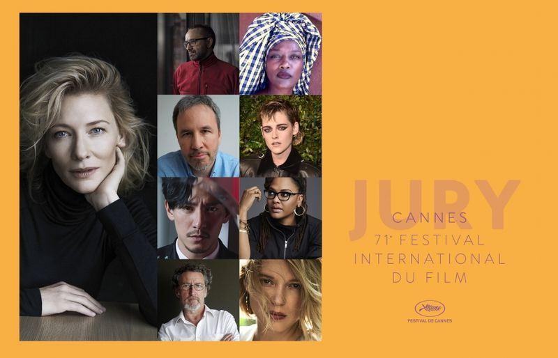 第71屆法國坎城影展主辦單位18日公布競賽片評審團名單,台灣演員張震入列,但國籍被列為中國。(圖取自坎城影展網頁www.festival-cannes.com)