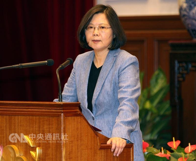 總統蔡英文27日將南下台南、高雄,啟動5加2產業創新系列行程。(中央社檔案照片)
