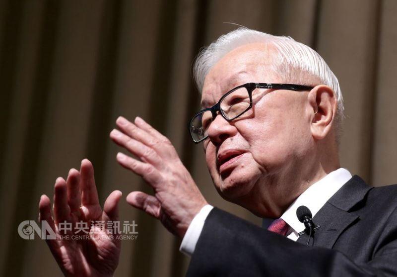 台積電董事長張忠謀5日退休。(中央社檔案照片)
