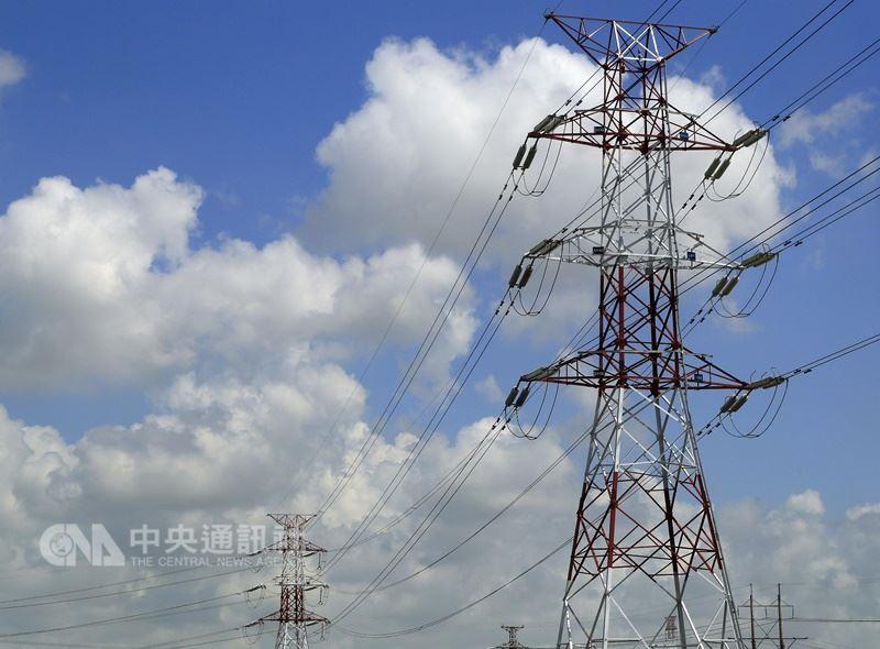 此為電力示意圖。(中央社檔案照片)