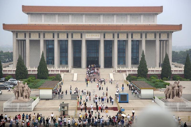 中國北京市文物局將北京中軸線14處遺產點申請為世界遺產,其中毛澤東紀念堂(圖)適當性受質疑。(檔案照片/中新社提供)