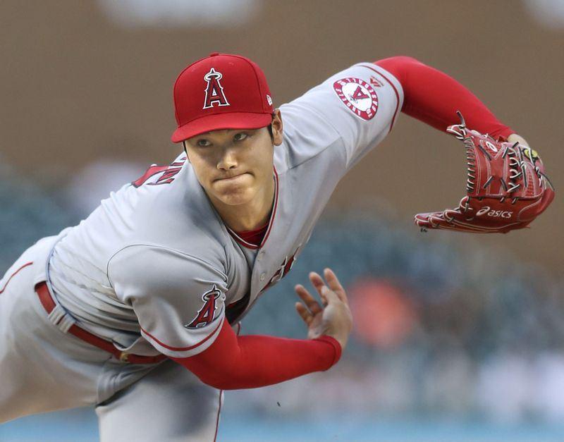 MLB洛杉磯天使隊日籍球星大谷翔平因傷從6月6日起未能站上投手丘。天使隊19日宣布,大谷翔平可恢復投球練習。(檔案照片/共同社提供)