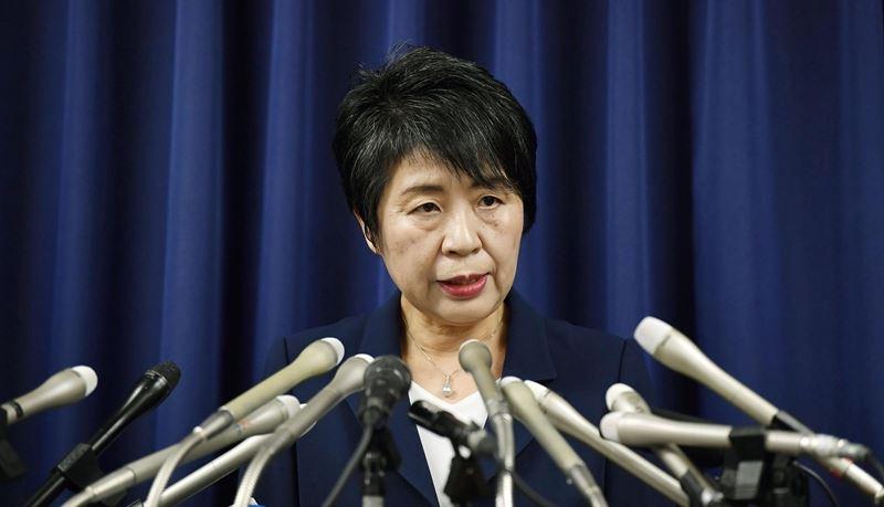 日本法務大臣上川陽子任內讓16名死囚伏法,是20年來執行最多死刑的法務大臣。(檔案照片/共同社提供)