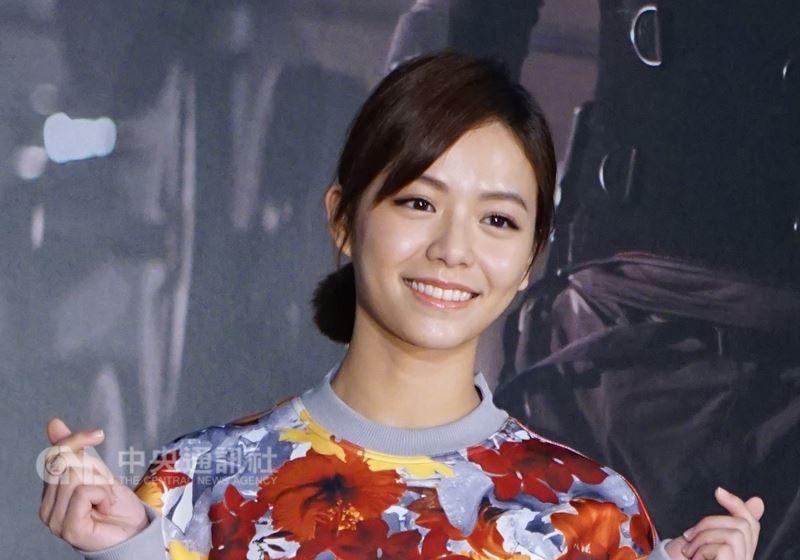 藝人宋芸樺(圖)因被大陸網友指為台獨藝人,她稍早在微博發文寫下「我是中國人」。(中央社檔案照片)