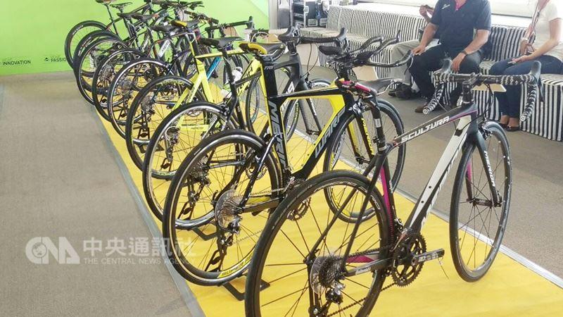 美利達目前已和客戶談妥,在美國對中國祭出懲罰性關稅時程之前,擬直接將中國大陸銷美的一般自行車移到台灣生產。圖為美利達所產的自行車款。(中央社檔案照片)
