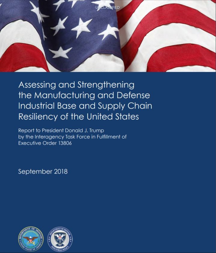 美國國防部5日公布報告指出,中國對美國國家安全具戰略性的關鍵原材料與技術供應,帶來重大且與日俱增的風險。(圖取自美國國防部網頁www.defense.gov)