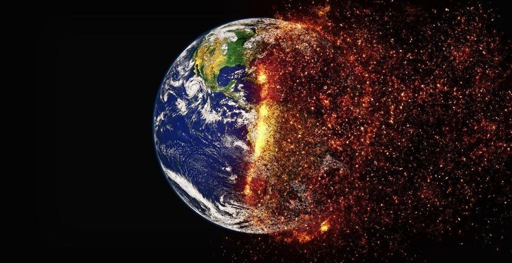 聯合國政府間氣候變化專門委員會8日預估最快西元2030年,地球升溫將突破攝氏1.5度。圖為示意圖。(圖取自Pixabay圖庫)
