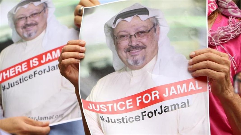 沙烏地阿拉伯記者哈紹吉進入沙烏地駐伊斯坦堡領事館後人間蒸發,據傳已遇害。(檔案照片/安納杜魯新聞社提供)