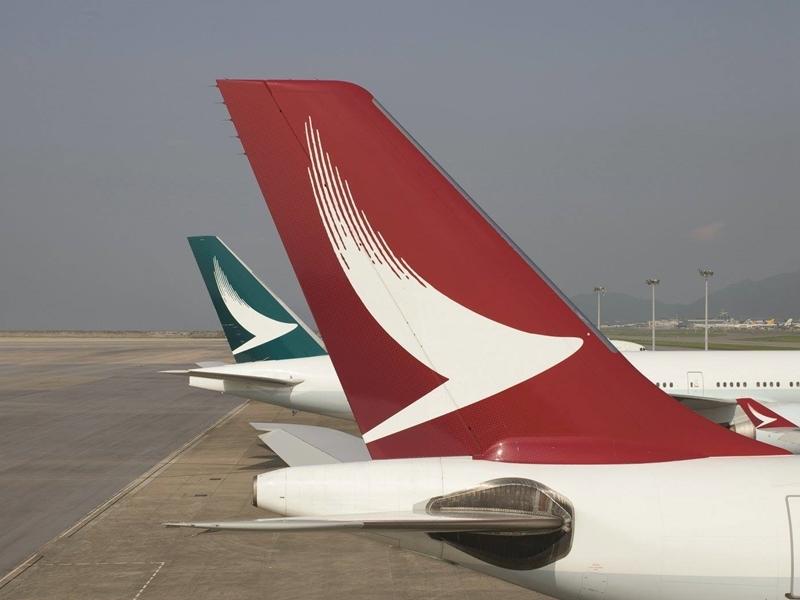 國泰航空公司24日表示,包含國泰航空和所屬港龍航空公司在內,約940萬名乘客的個資外洩。(圖取自臉書facebook.com/cathaypacific)