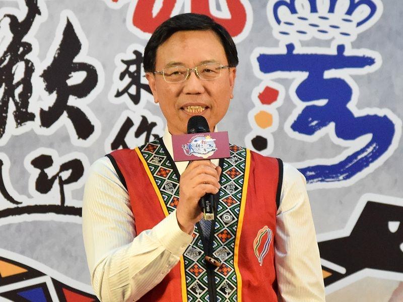 新任交通部台灣鐵路管理局局長,由現任交通部政務次長張政源接任。(中央社檔案照片)