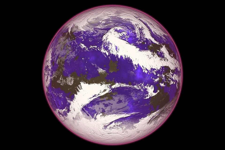 蒙特婁議定書發現,平流層臭氧持續恢復,極地臭氧破洞可望逐步修補。圖為示意圖。(圖取自Pixabay圖庫)