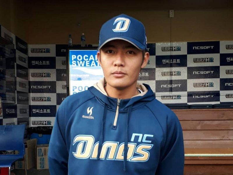 韓國媒體報導,韓國職棒NC恐龍決定不與陣中所有洋將續約,代表台灣左投王維中也不會被留用。(中央社檔案照片)