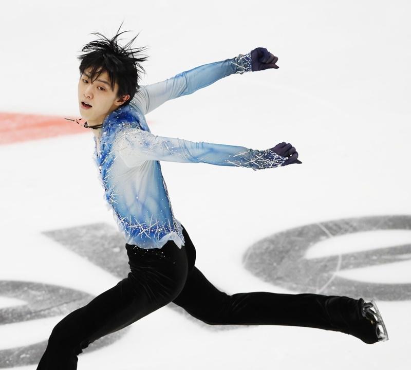 羽生結弦是俄羅斯素溪和南韓平昌兩屆冬季奧運金牌得主,是首位在冬奧成功衛冕金牌的亞洲選手。(共同社提供)