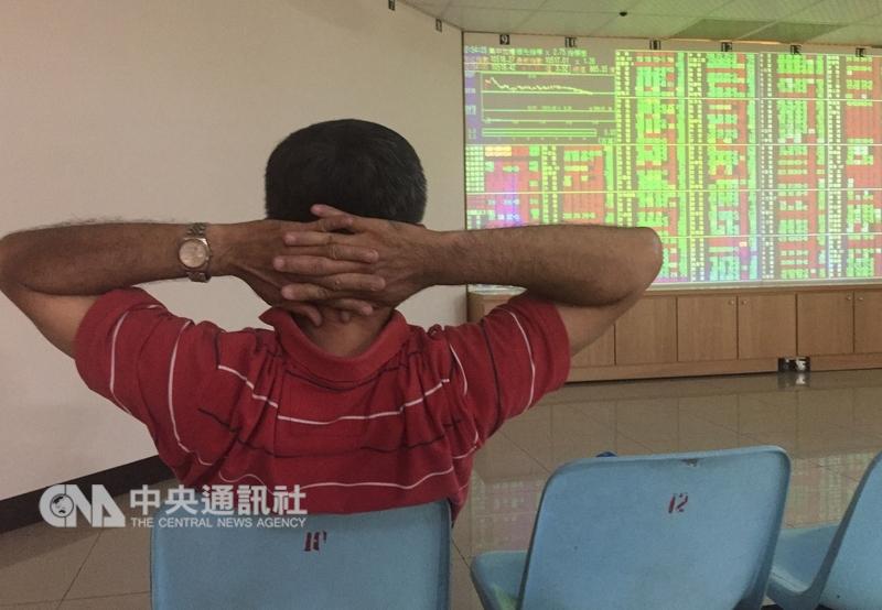 台北股市26日開盤漲12.68點。(中央社檔案照片)