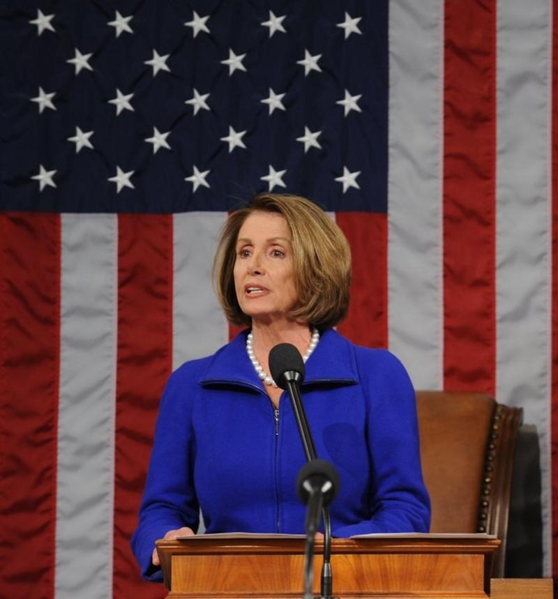 反中友台的加州眾議員裴洛西28日獲得民主黨黨團背書,提名下任眾議院議長。(圖取自facebook.com/NancyPelosi)