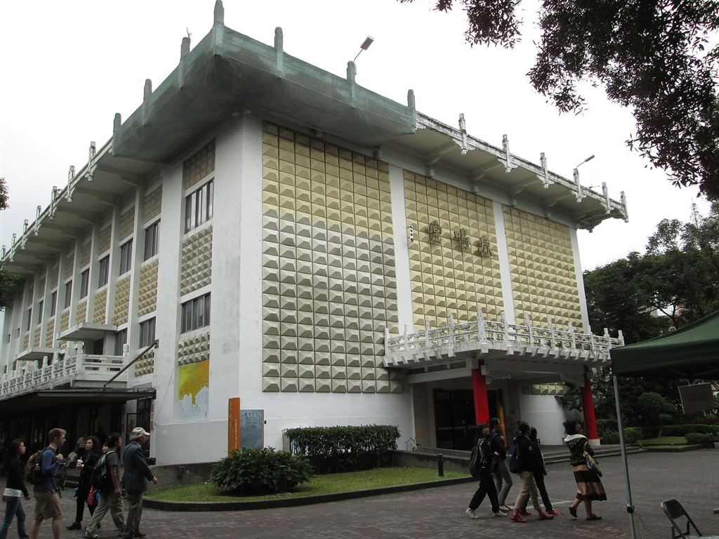 台北市文化局30日召開文資審議會,通過登錄鹿鳴堂為歷史建築。(圖取自維基共享資源,作者台大企鵝,CC BY-SA 3.0)