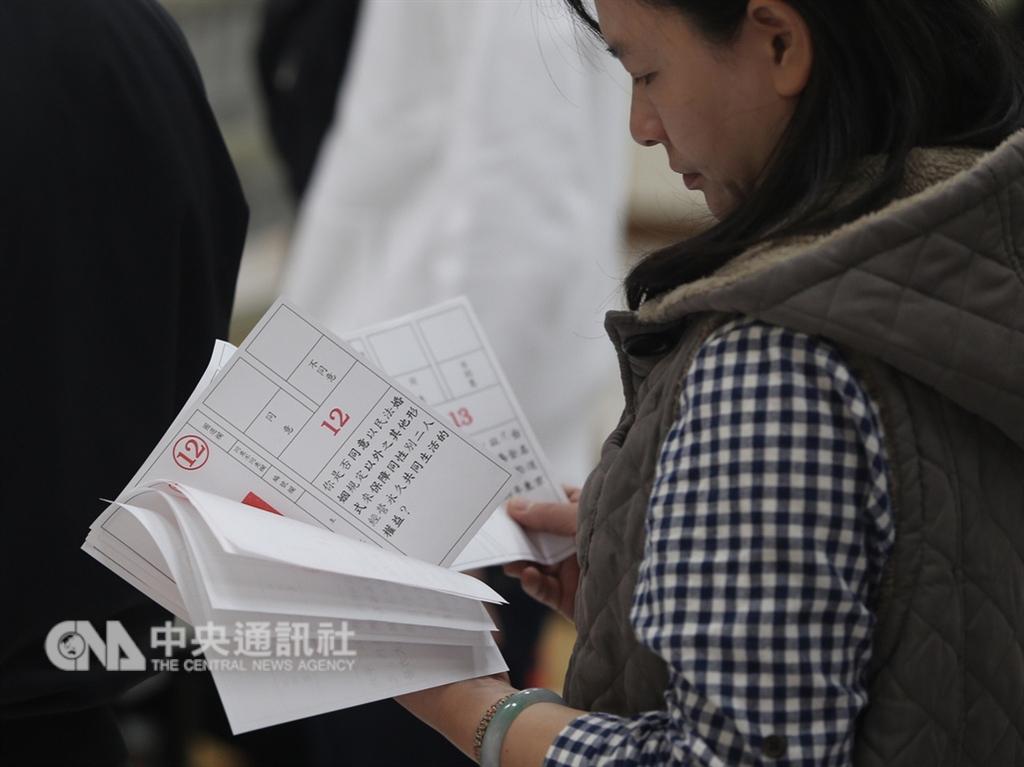 聯合國非政府組織執委會主席納茲3日談到台灣公投時表示,人權永遠不該付諸表決。(中央社檔案照片)