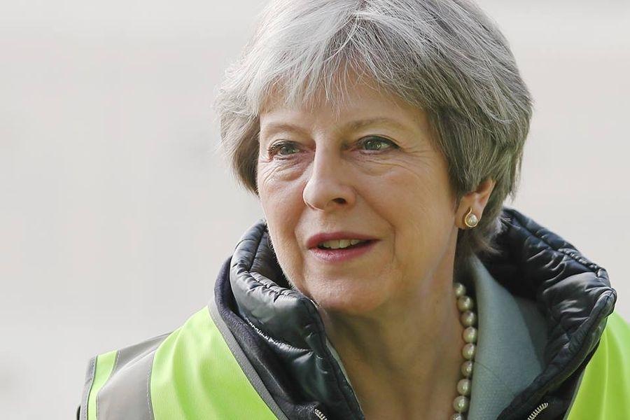 英國首相梅伊10日宣布延後國會的脫歐協議表決,遭在野的工黨痛批。(圖取自facebook.com/conservatives)