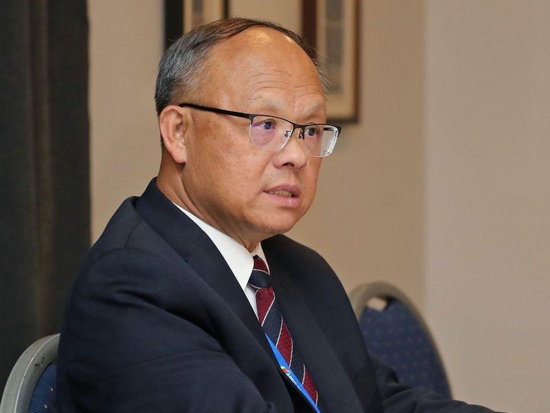 反核食公投過關,日本外相表態台灣恐因此無法加入CPTPP。主責經貿談判的行政院政務委員鄧振中強調,將持續向日方溝通說明。(中央社檔案照片)