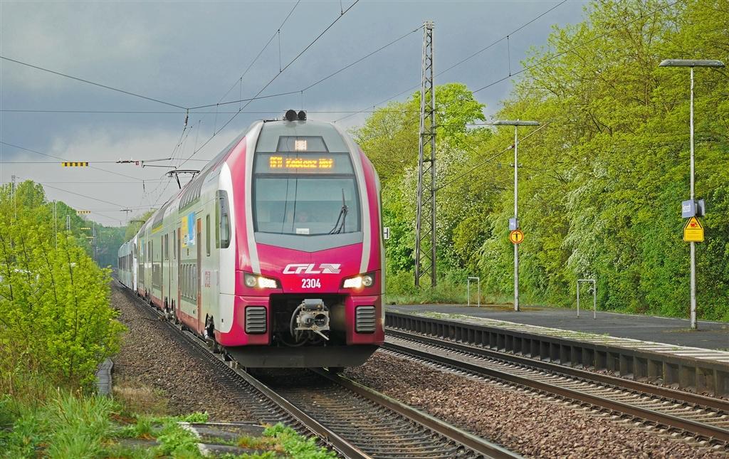 盧森堡總理貝特爾計畫自2019年夏天起,執行火車、電車與巴士都不收費的方案。圖為盧森堡國家鐵路(CFL)。(圖取自Pixabay圖庫)