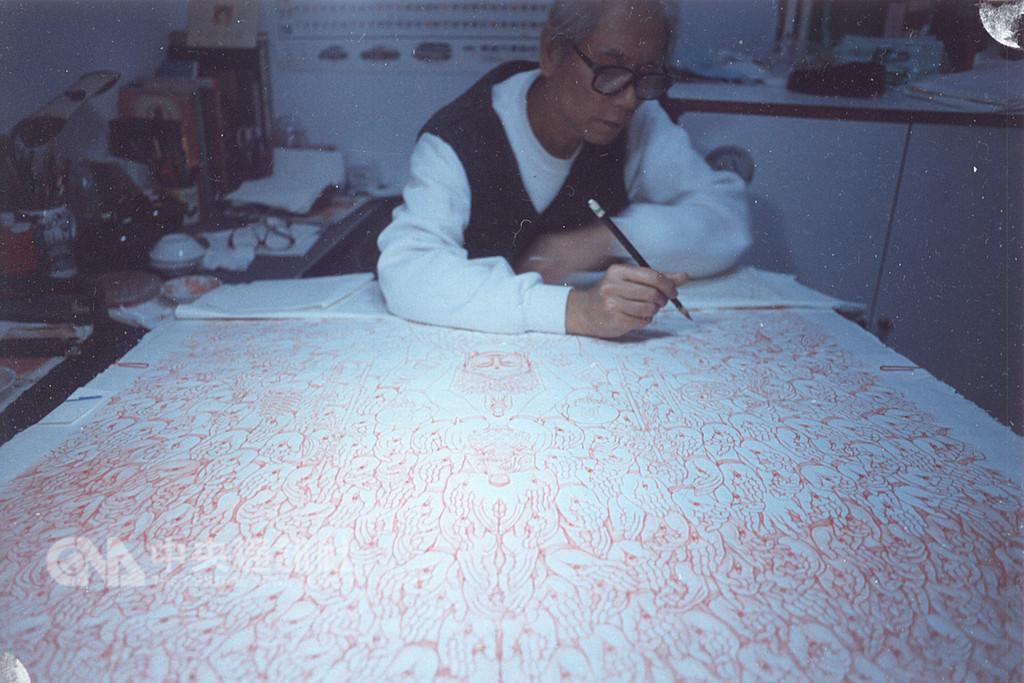 漫畫家許貿淞一生奉獻漫畫創作,他耗時10年繪製的封筆之作「佛祖傳」如今推出,多達760頁手繪彩稿,以細膩工筆技法、鮮明水彩畫風闡述佛學教義,重現佛陀降生、成長、弘法、入滅的感動。(許貿淞家屬提供)中央社記者江佩凌傳真 107年12月8日
