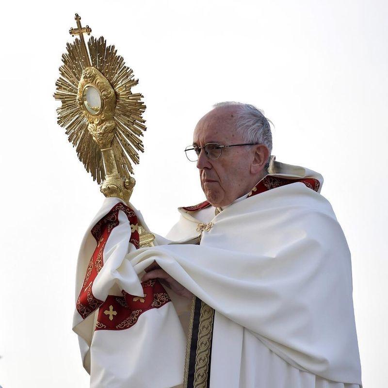 教宗方濟各雖懷著耶穌會士的中國夢,卻絕非一廂情願的理想主義者,他和中國的每一步對弈都經過精算。(圖取自方濟各IG網頁www.instagram.com/franciscus)