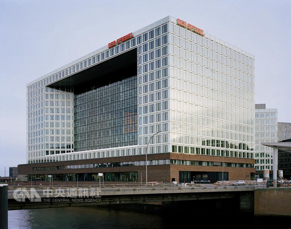總部位於漢堡的明鏡週刊是頗具影響力的德國媒體。圖為2012年啟用的新大樓。(DER SPIEGEL/Noshe提供)中央社記者林育立柏林傳真 107年12月23日