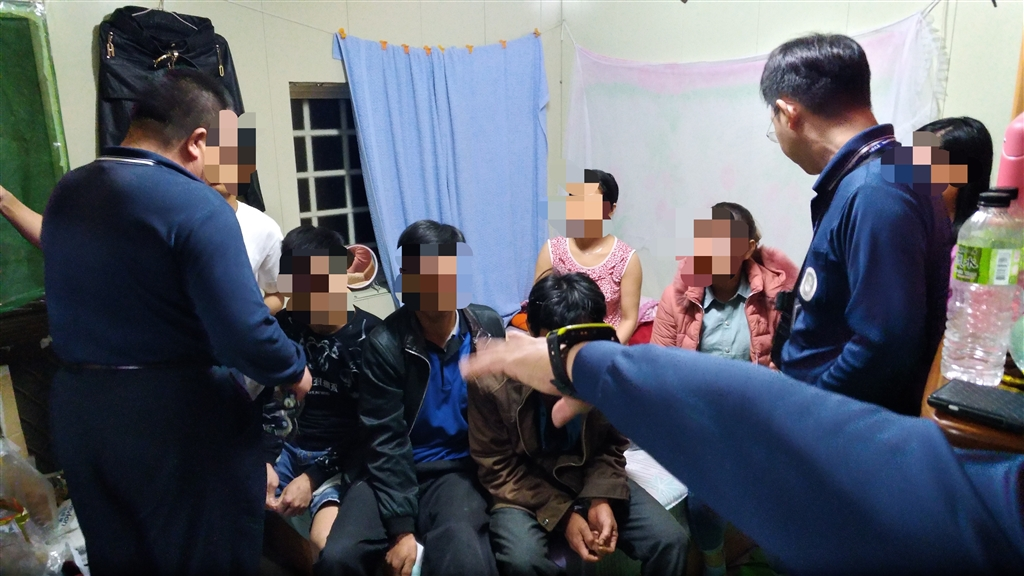 移民署查處越南旅行團集體脫逃案,累計到案14人,全團還有134人在台失聯。(圖取自移民署網頁www.immigration.gov.tw)