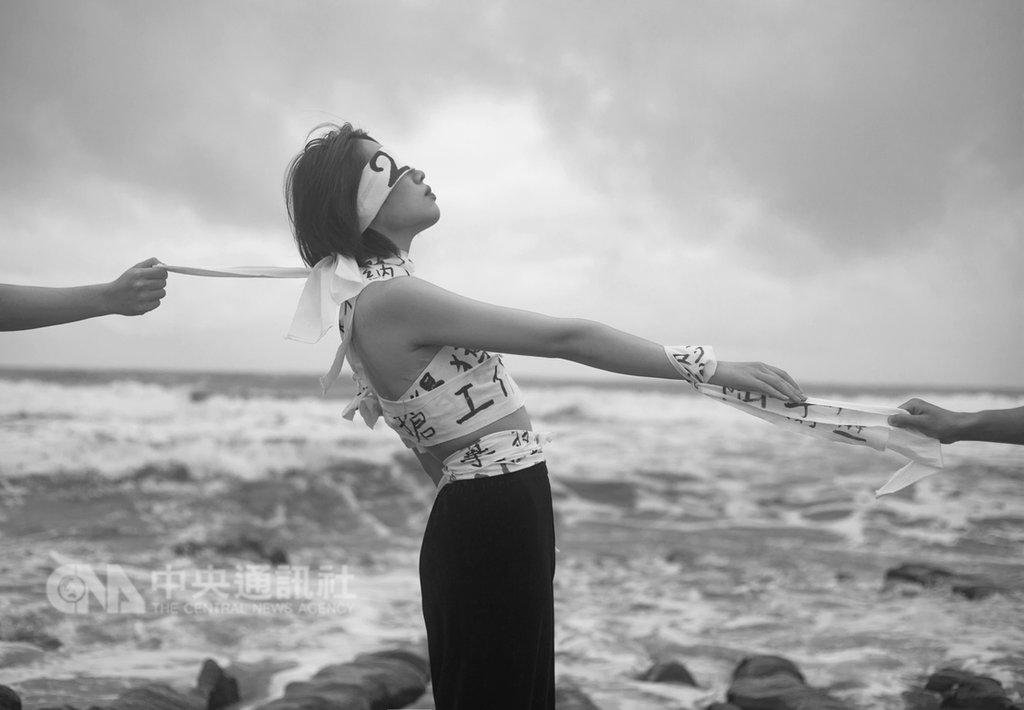 陸生汪家欣在台北舉辦「你們」攝影展,透過攝影作品訴說陸生們在兩岸之間面臨的拉扯與無奈。(汪家欣提供)中央社 108年1月8日