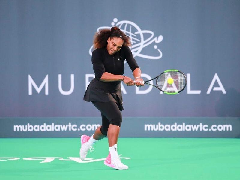 美國好手小威廉絲(圖)在澳洲網球公開賽,將力拚追平澳洲傳奇寇特的24座大滿貫賽女單冠軍紀錄。(圖取自 www.facebook.com/SerenaWilliams)