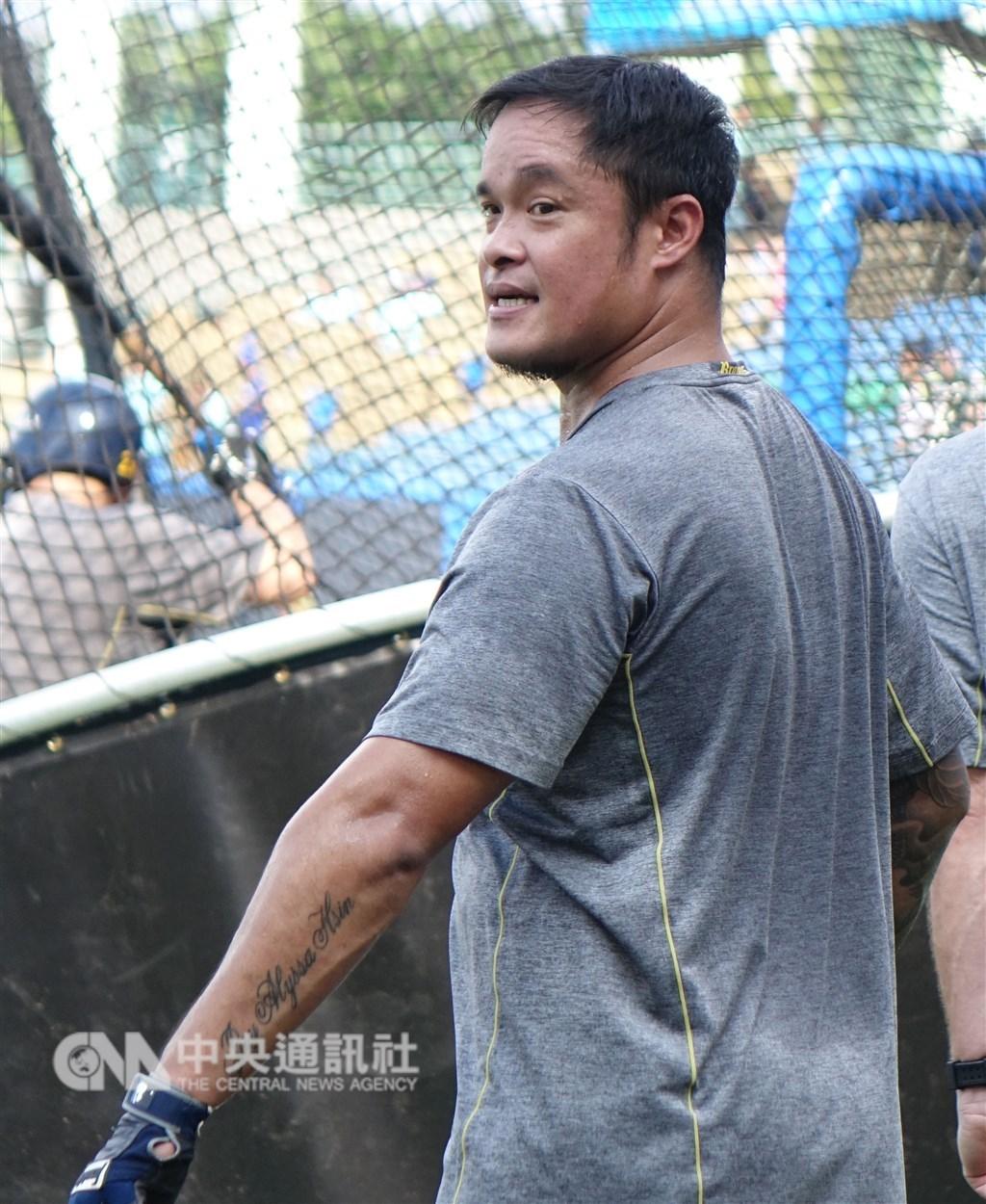 中信兄弟球員林智勝2018年出賽58場、4支全壘打、打擊率0.266未達預期,新合約薪水有可能大砍。(中央社檔案照片)