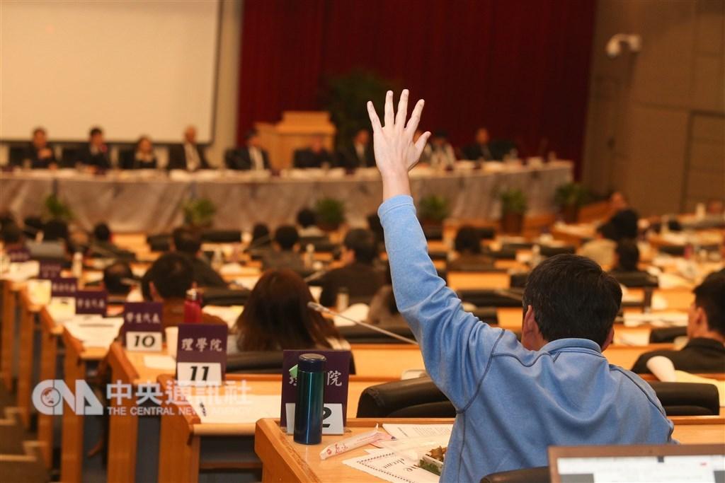 多所大專校院學生爭取「直播」校務會議,屢屢遭到校方阻攔。圖為示意圖。(中央社檔案照片)
