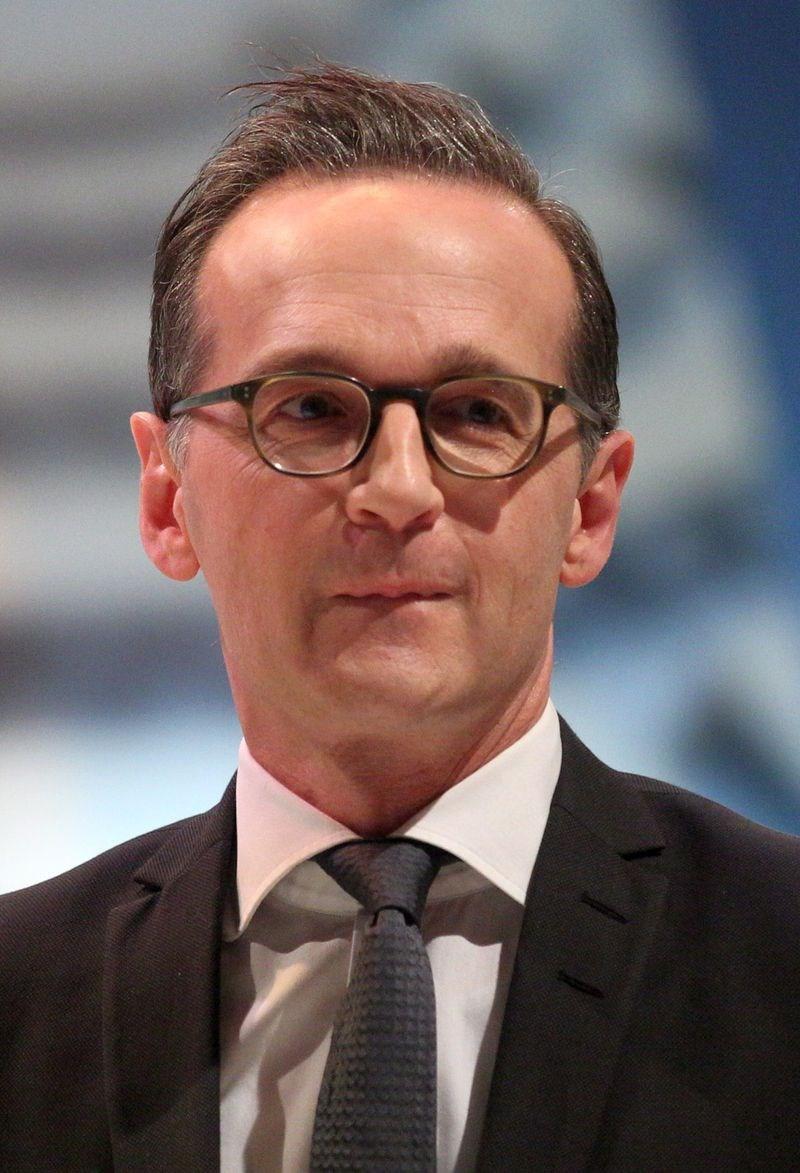 德國外交部長馬斯在國會答詢時表示,無法接受中國武力威脅台灣的作法。馬斯是近年來針對台灣議題公開表達立場的最高層級德國官員。(圖取自維基共享資源,作者:Sandro Halank,CC BY-SA 3.0)