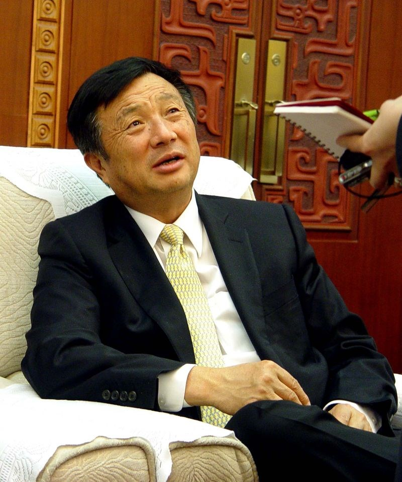 中國華為創辦人任正非18日向員工連發2封信說,未來幾年,整個大形勢應該沒有想像中那麼樂觀,華為要有過苦日子的準備。(檔案照片/中新社提供)