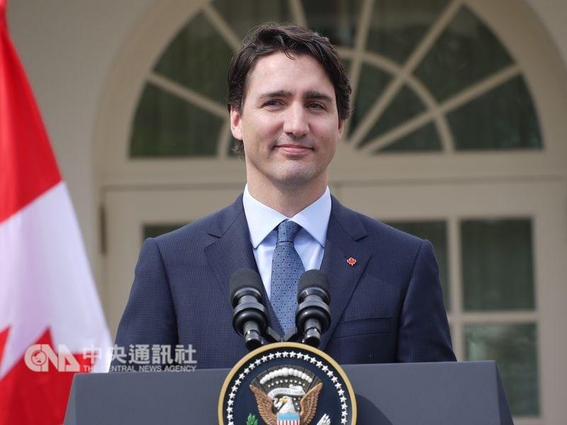 57名國際學者29日向加拿大總理杜魯道(圖)致公開信,一些學者在信中呼籲,利用這個機會審視並加強加拿大與台灣的關係。(中央社檔案照片)