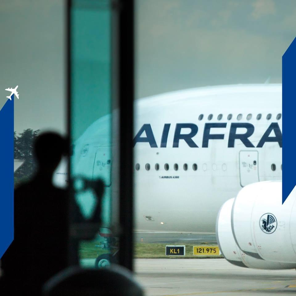 全球各大航空公司其實常有罷工事件,像是法國航空(圖)去年上半年就有部分員工罷工10餘天。(圖取自www.facebook.com/airfrance/)