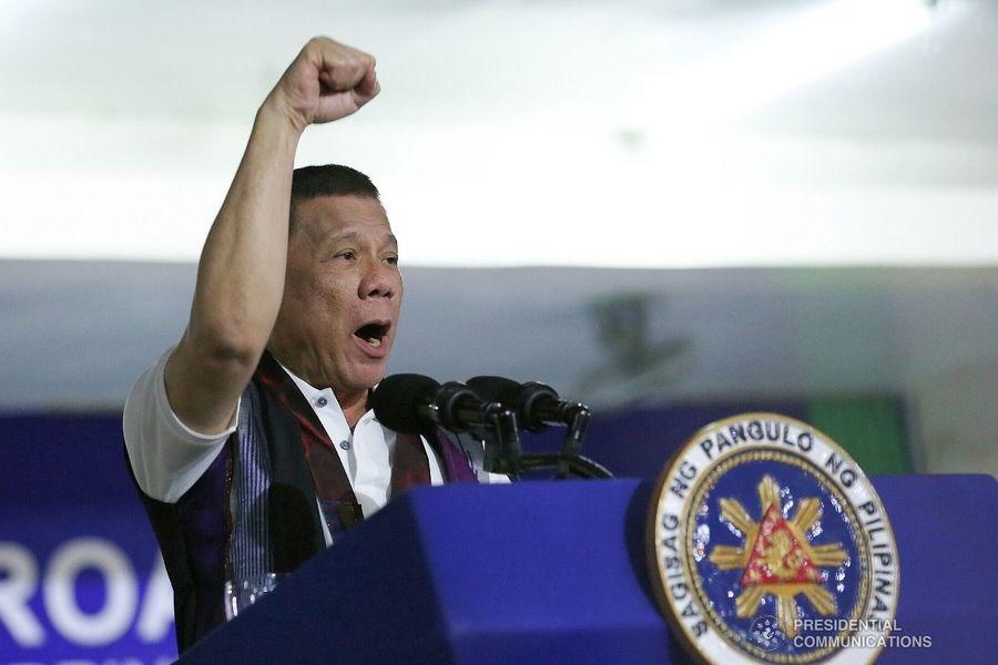 菲律賓總統杜特蒂11日表示,有朝一日他可能把「菲律賓」這個國名改為「馬哈利卡」。(圖取自菲律賓總統府通訊作業辦公室網頁pcoo.gov.ph)